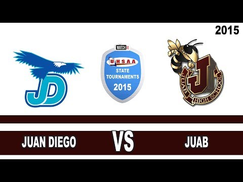 3A Football: Juan Diego vs Juab High School UHSAA 2015 State Tournament Semifinals