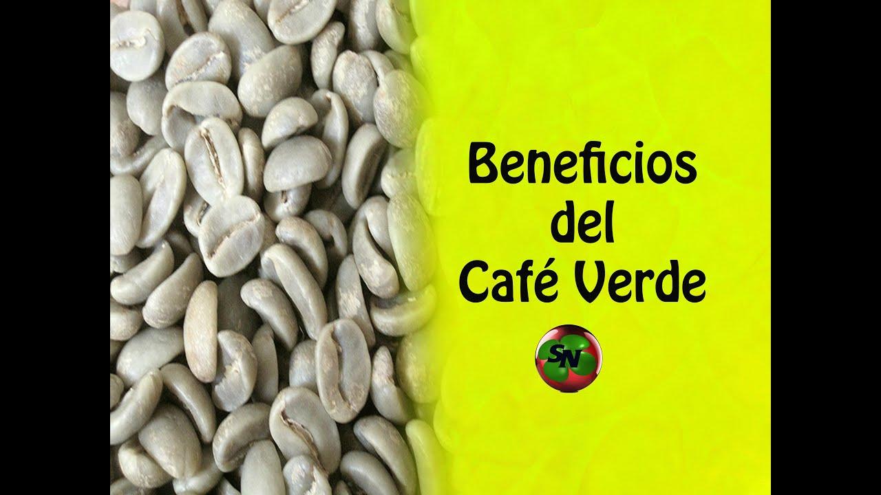 granos de cafe verde propiedades