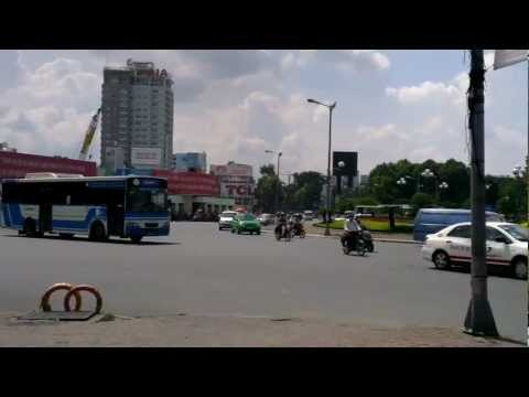 Driving in Vietnam - Ho Chi Minh City