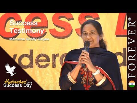 Business Testimony by Mamatha Reddy Ginjala at Hyderabad Success Day