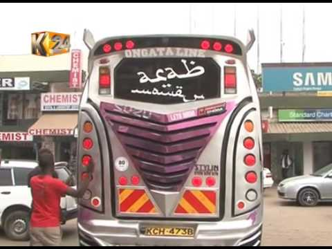Matatu Evolution: Modern PSV's fitted with screens. Ipads,cameras