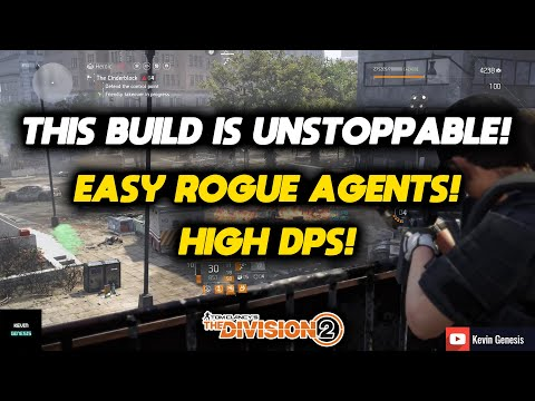 The Division 2  THIS THING IS TOO OVERPOWERED!! IT CAN HANDLE ANYTHING EASILY WITH HIGH DAMAGE!