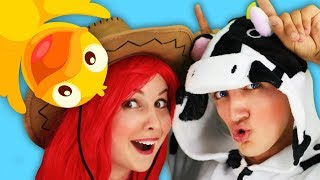 Farm Animals Voices in the Funny Kids Song