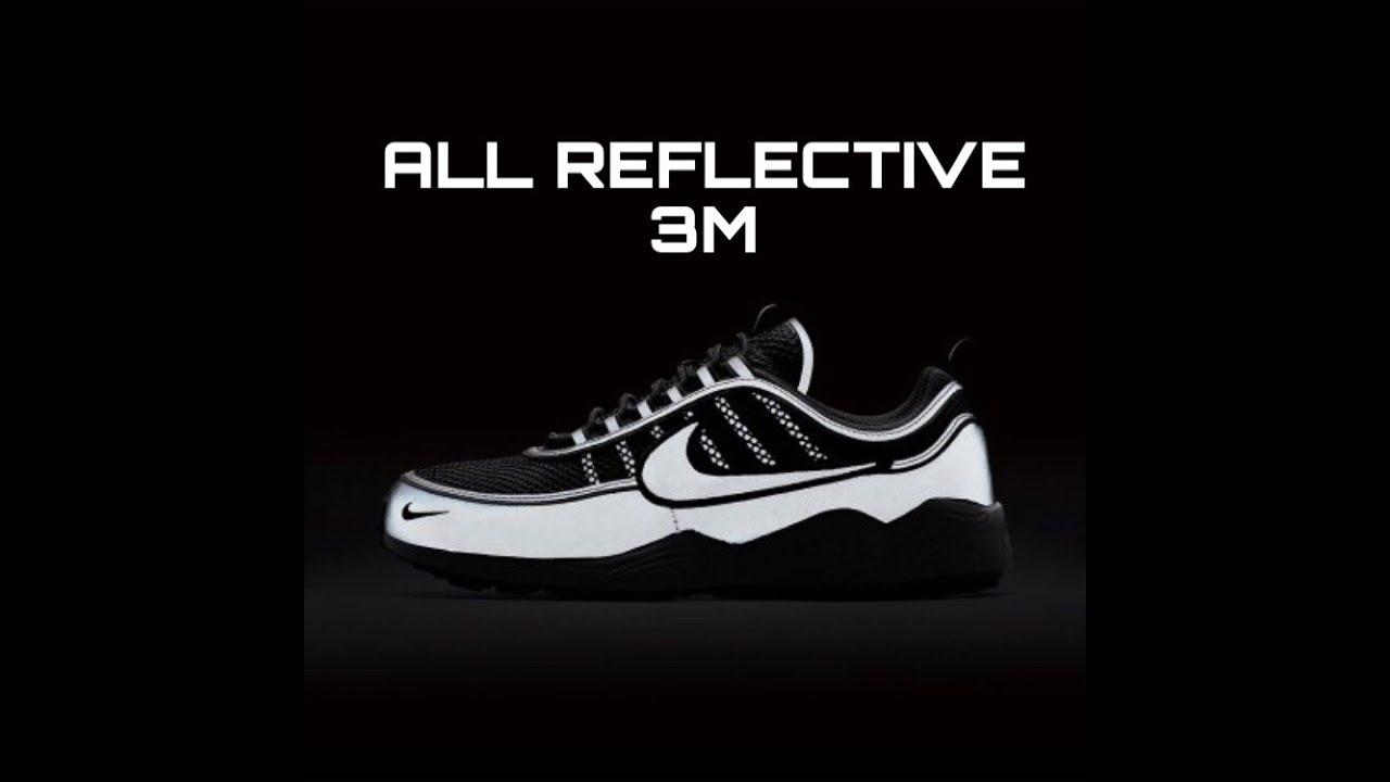 wholesale dealer dfdd7 eb9e6 Nike Air Zoom Spiridon 16 ALL REFLECTIVE + On feet