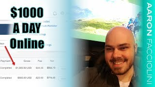 How to Make 1000 Dollars a Day Online - How to Make $1,000+ Per Day with Affiliate Marketing!