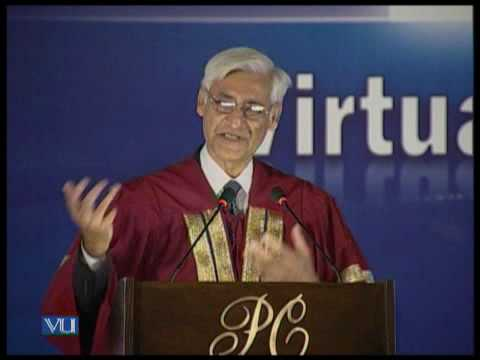 First Convocation of Virtual University 2010