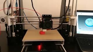 anet a8 3d printer printing pin demo reprap prusa i3