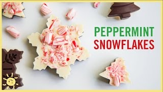 EAT | Chocolate Peppermint Snowflakes