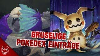 Die 5 gruseligsten Pokédex-Einträge aus Pokémon Sonne und Mond!