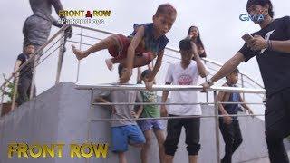 Front Row: Binata, nagtuturo ng Parkour sa mga street children sa Luneta