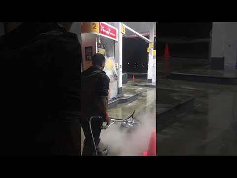 Gas Station cleaning Los Angeles (2018) Curb Appeal Power Clean