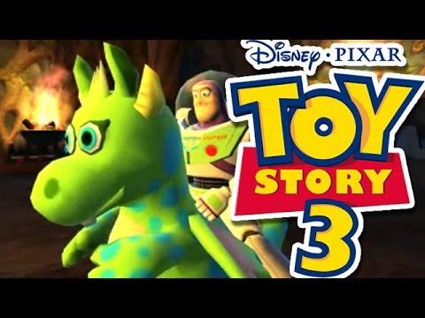 TOY STORY 3 EN ESPAÑOL BUZZ Y EL DRAGON MAGICO EL JUEGO DE LA PELICULA TOY  STORY 0ccf90c7a64