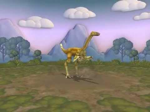 Spore dinosaur Gallimimus
