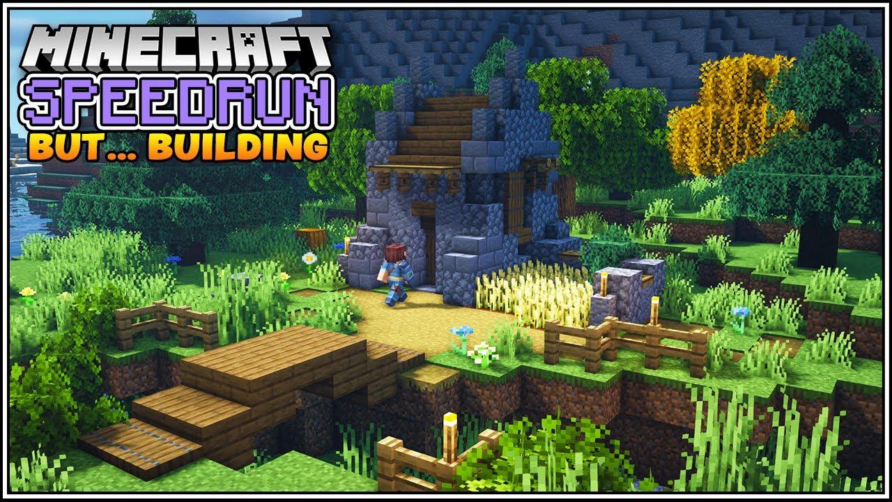 Minecraft Speedrun, But for Building!!!