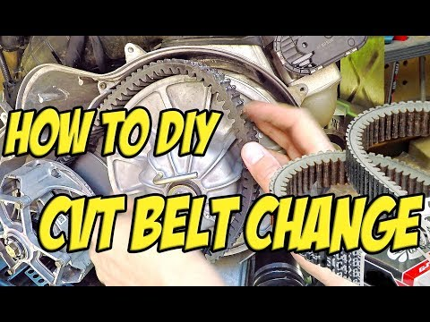 Quick CVT Clutch Belt Removal/Replacement - How To DIY - Polaris RZR - SXS/UTV/ATV Drive Belt Change