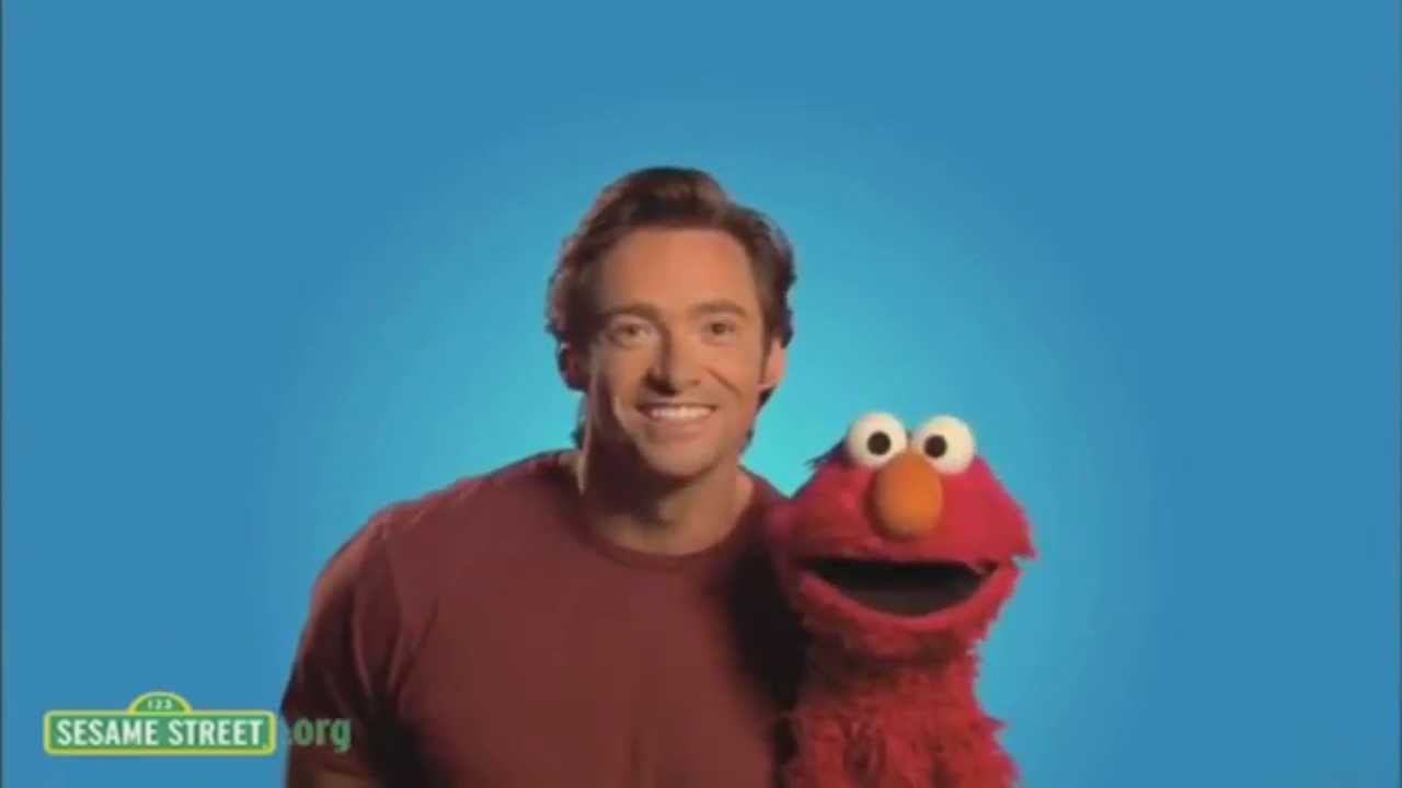 Hugh Jackman on Sesame Street 01/28/2010 8