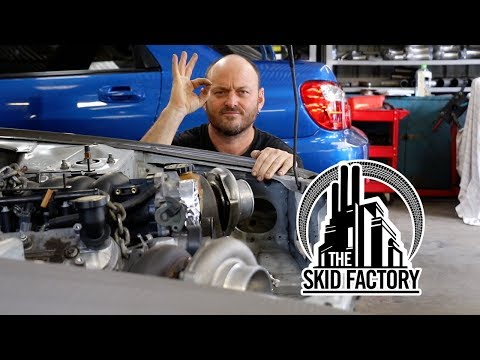 THE SKID FACTORY - Turbo LS1 R32 Skyline [EP4]