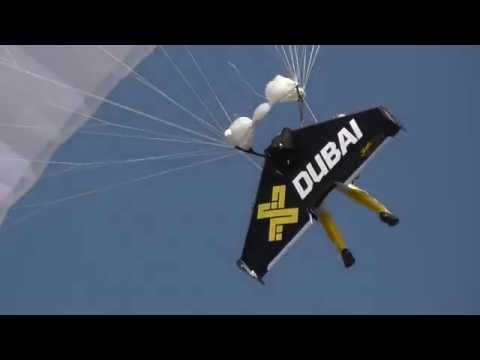 Athens Flying Week 2016 JETMAN DUBAI (JET WING) and DIMITRIS VERVERELIS (EC-120B)