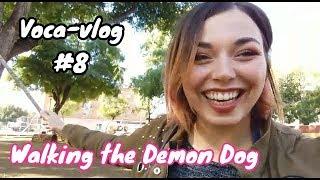 Voca-vlog 8 | Walking the Demon Dog (ESL Lesson)