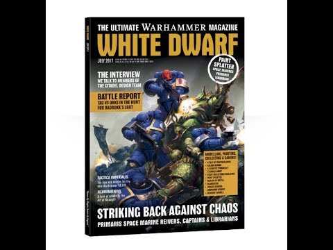 White Dwarf - Lipiec 2017