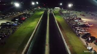 Drone Video of the #AmericanOutlaw at Funny Car Chaos