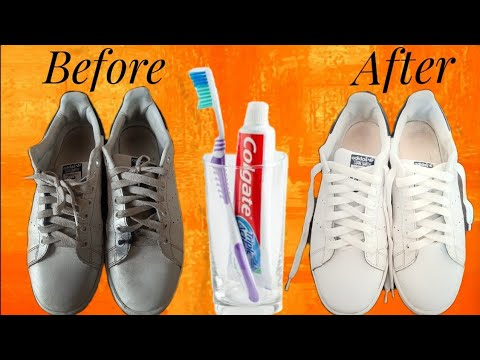 How To Clean Your White Shoes || Colgate || Life Hacks