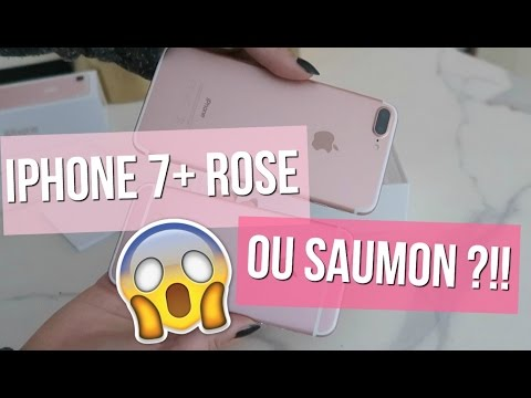IPHONE 7+ ROSE OU SAUMON ?!!! ♡