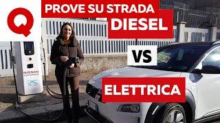 La sfida impossibile delle Hyundai Kona: elettrico contro diesel