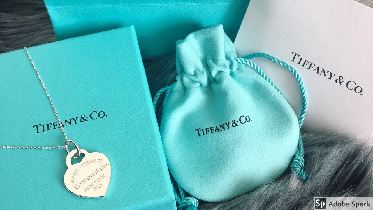 5ceabc22d Tiffany and Co Unboxing| Tiffany and Co heart necklace| First Tiffany  Unboxing