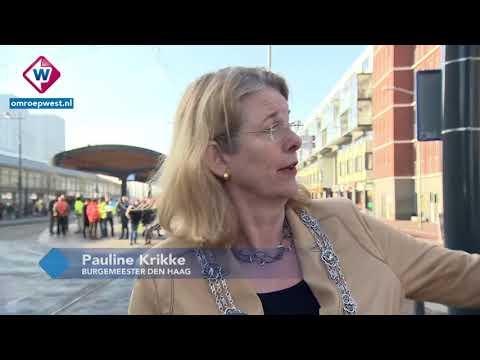 Het Stationsplein in Den Haag is na zeven maanden af