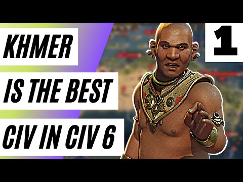 Download This Civ 6 Khmer Strategy Gives You INFINITE Amenities And 30 Population  (Civ 6 Deity)