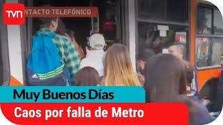 Problemas en Metro generaron colapso de Transantiago | Muy buenos días