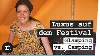 Festival im Luxus: Glamping vs. Camping bei Parookaville