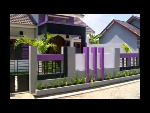 Gambar Pagar rumah Minimalis Modern Terbaru YouTube