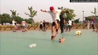 Kang Gary and skateboarding