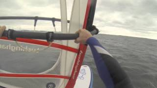 Windsurfing at Ards Sailing Club 1st Sept 2013