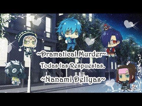 Dramatical Murder -Todas las Respuestas- por Nanami xD