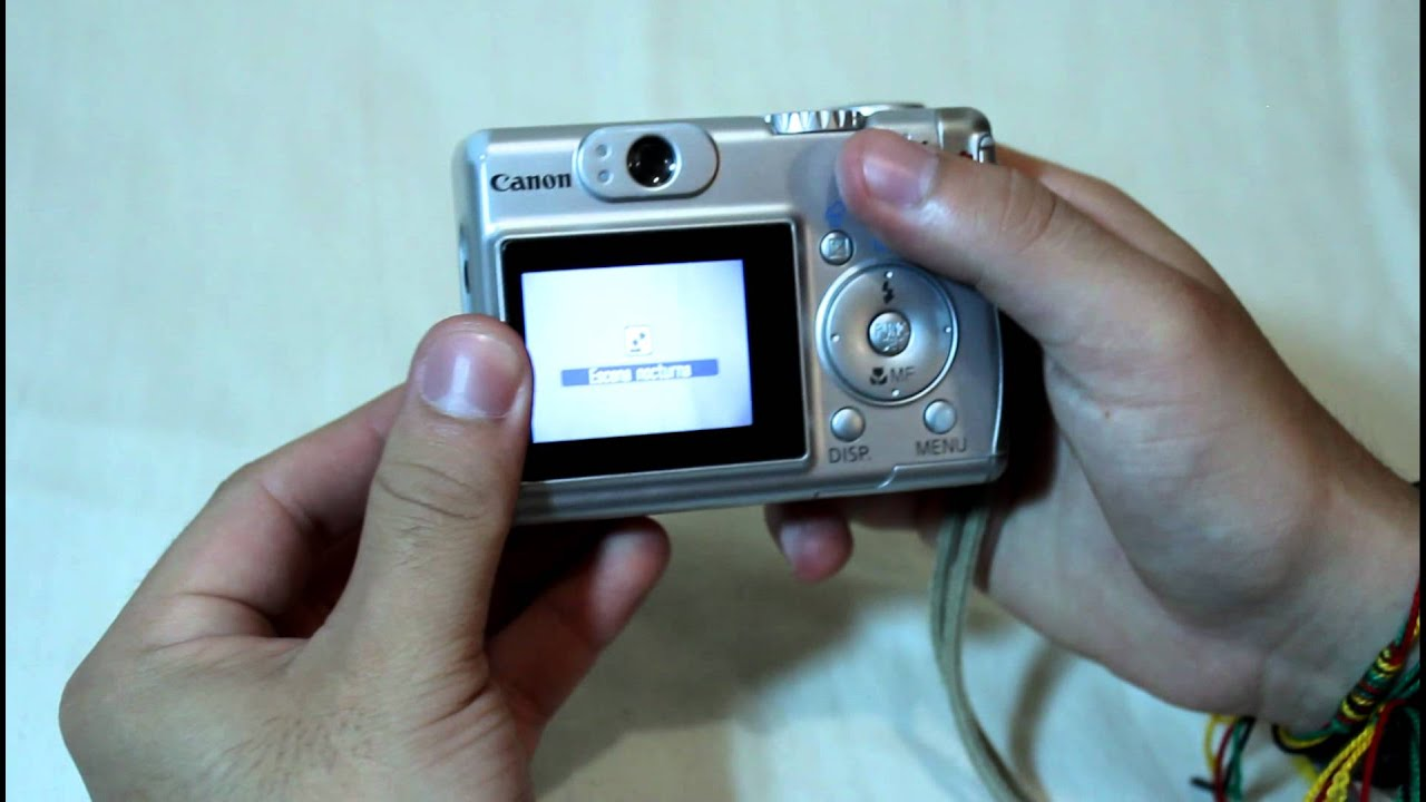 c mara canon powershot a530 youtube rh youtube com canon powershot a530 user manual Canon PowerShot A590