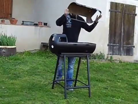 barbecue combi vw fait maison youtube. Black Bedroom Furniture Sets. Home Design Ideas