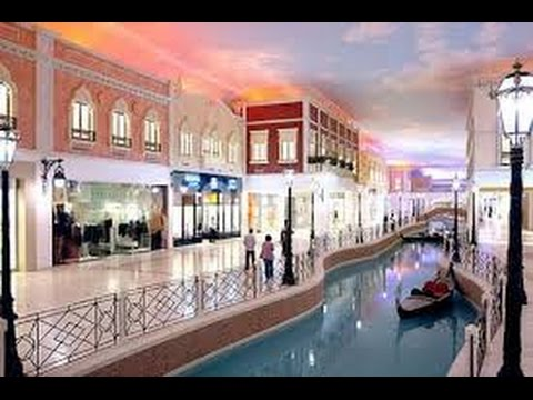Villagio mall  .  Qatar .  Dohaفيلاجيو مول في قطر.ARABKIDS Tv