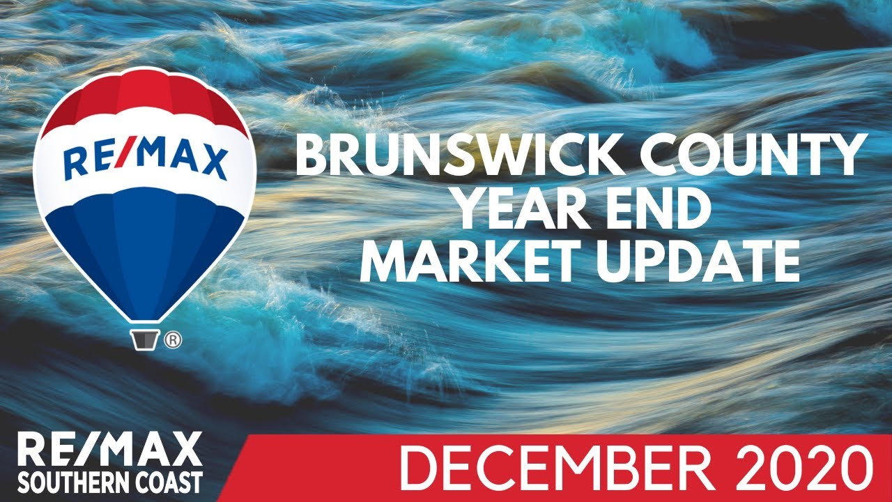 Brunswick County Year End Market Stats are OUT • DECEMBER 2020