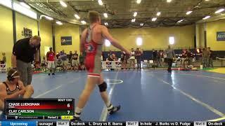 Junior Men 138 Chase Luensman Iowa Vs Clay Carlson Minnesota