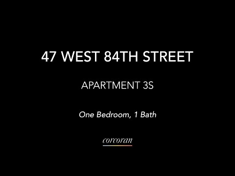 47 West 84th Street Apartment 3S