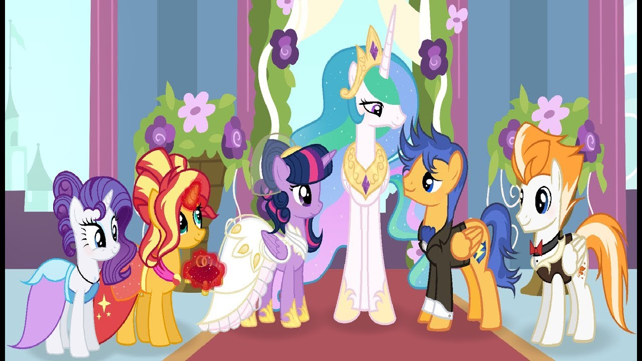 Mlp Royal Wedding  Ud83d Udc95  Base Edit