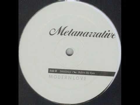 Claro Intelecto - Before My Eyes [Modern Love, Love038]