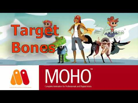 Tutorial Moho Pro Target Bone thumbnail
