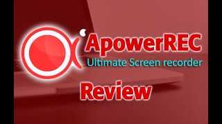 ApowerREC - Start Recording with your Screen, Webcam and Mic! [REVIEW]