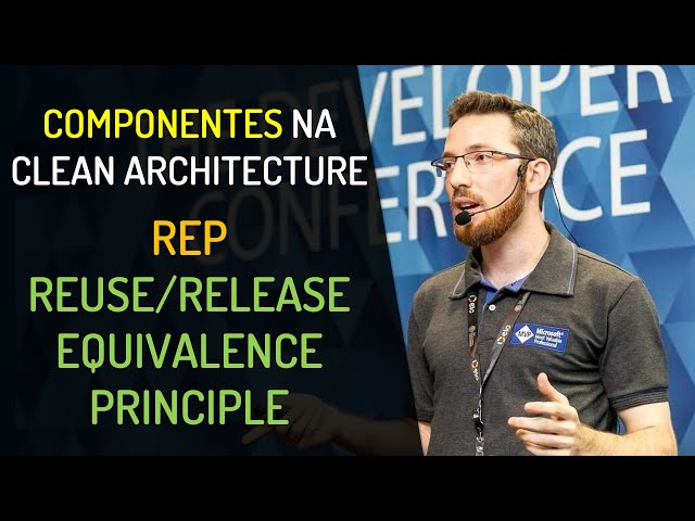 Componentes na Clean Architecture - REP: Reuse/Release Equivalence Principle