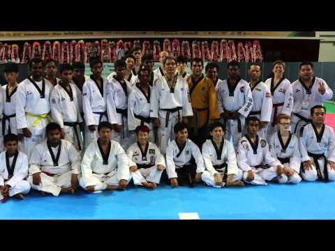 Taekwondowon Expo Muju South Korea 2015
