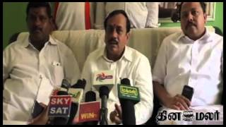 DMK Karunanidhi want to divert his family Problems says BJP H. Raja